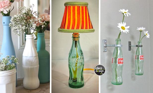 Lampada con bottiglia vetro bottiglie di vetro della lampadina