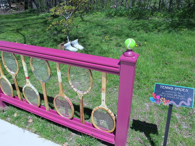 riciclo racchetta da tennis 16
