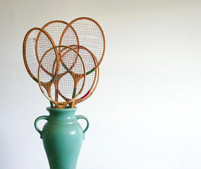 riciclo racchetta da tennis 21