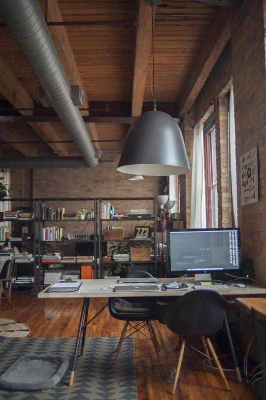 Arredo ufficio in stile industriale 26 idee lasciatevi for Home arredamento