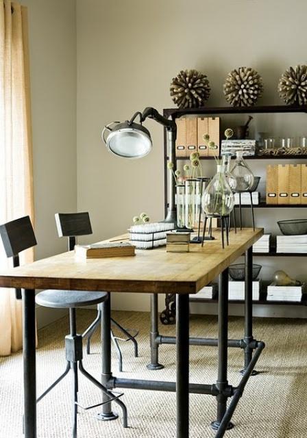 Arredo ufficio in stile industriale 26 idee lasciatevi for Arredamento ufficio design