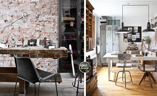 Arredo ufficio in stile industriale 26 idee lasciatevi for Arredo studio ikea