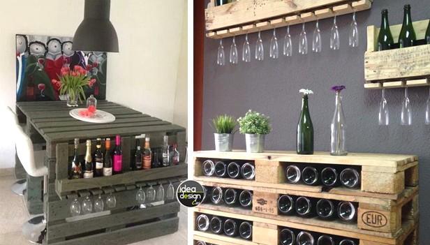 Arredamento bar con pallet angolo bar con pallet ecco idee for Jumbo arredamenti