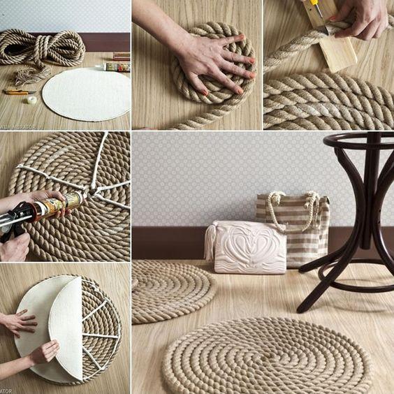 idee creative fai da te da realizzare con la corda creazione fai da te ...