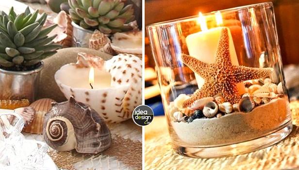 decorazioni creative al sapore di mare! 20 idee da copiare!