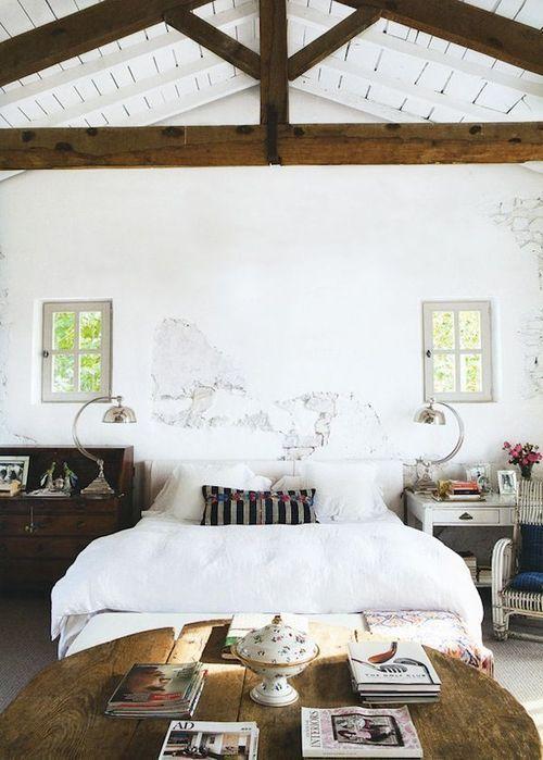 Travi in legno in camera da letto ecco 20 esempi - Idee arredamento camera da letto ...