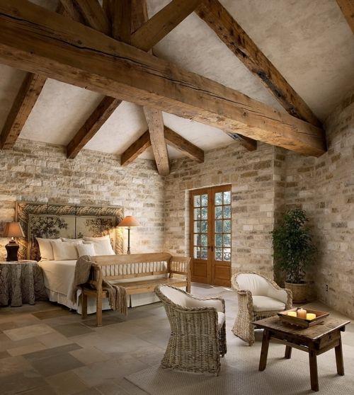 Travi in legno in camera da letto! Ecco 20 esempi...