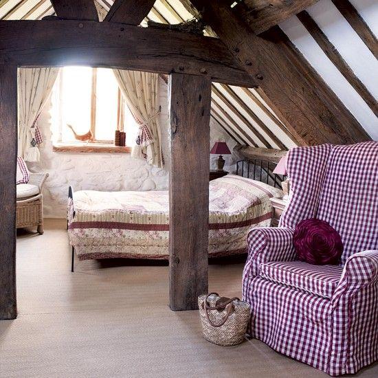 Travi in legno in camera da letto ecco 20 esempi for Pinterest arredamento