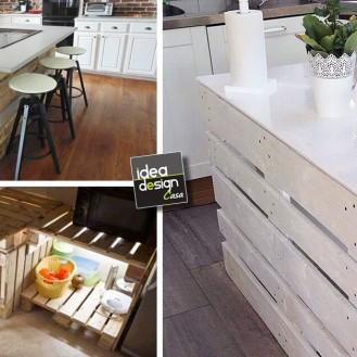 Tavolini fai da te con cassette di legno 20 idee creative - Isola cucina fai da te ...