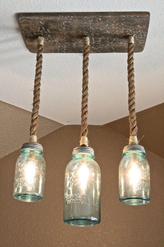 Lampadari fai da te molto originali! Ecco 20 idee    -> Lampadari Fai Da Te Con Tazze