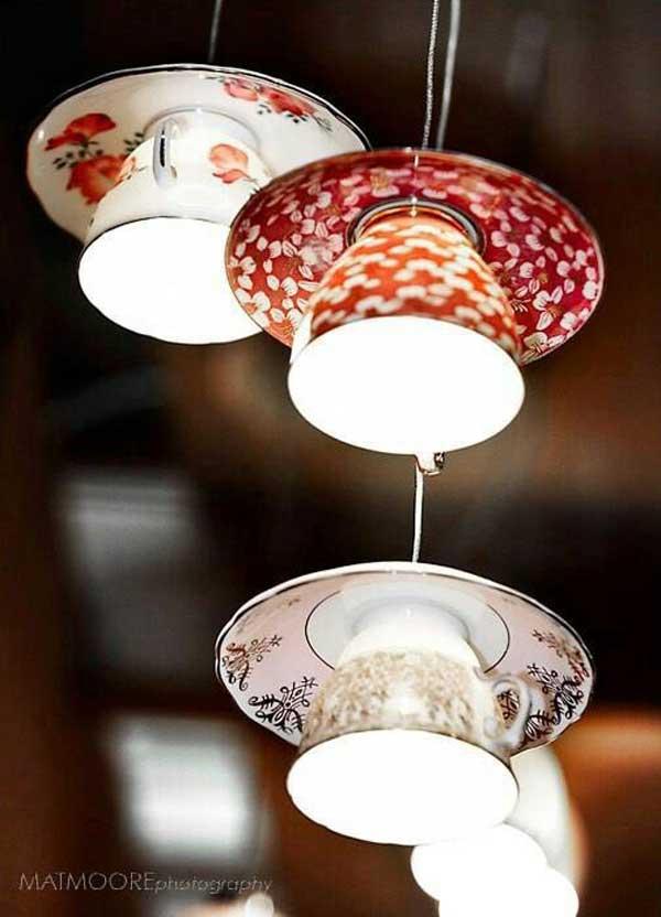 Lampadari fai da te molto originali! Ecco 20 idee    -> Lampadari Fai Da Te Originali