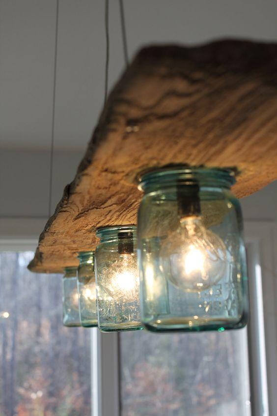 idea lampadari : Creare Lampadario con materiale di riciclo ? Idea n? 1