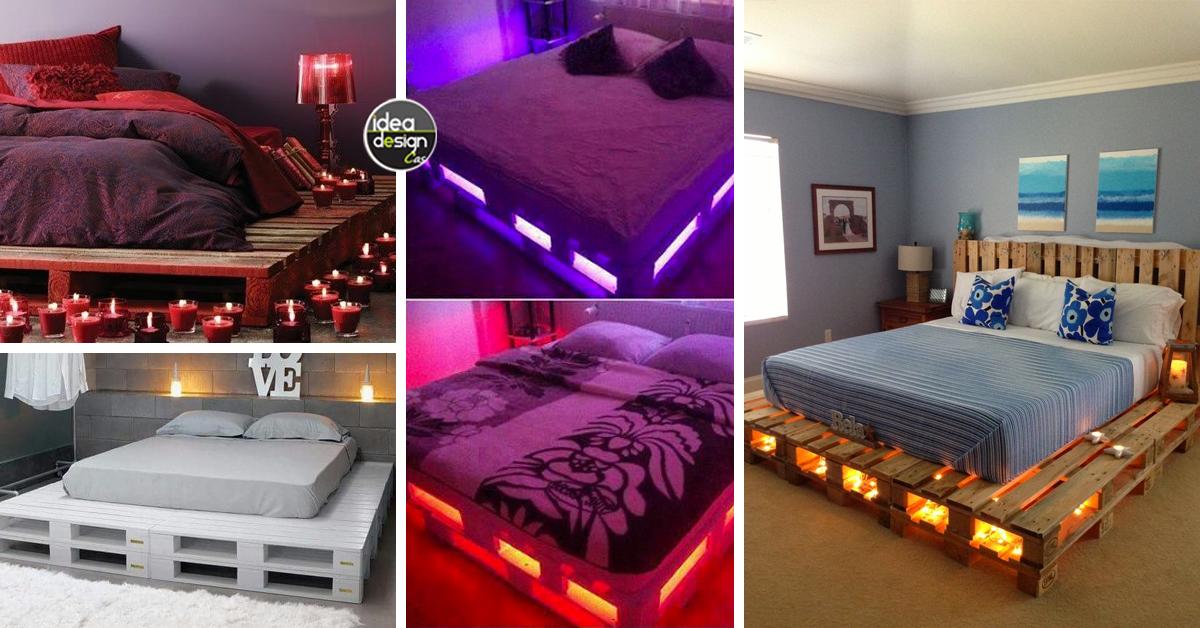 Un letto con i pallet ecco 15 idee da cui trarre - Letto contenitore fai da te ...