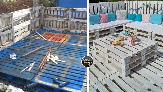 Divano esterno fai da te idee per il design della casa for Pitturare esterno casa fai da te