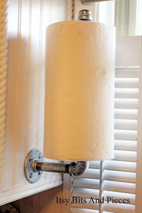 Riciclare tubi idraulici e arredare casa! Ecco 20 idee originali