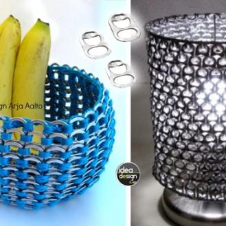 riciclo-linguette-lattine