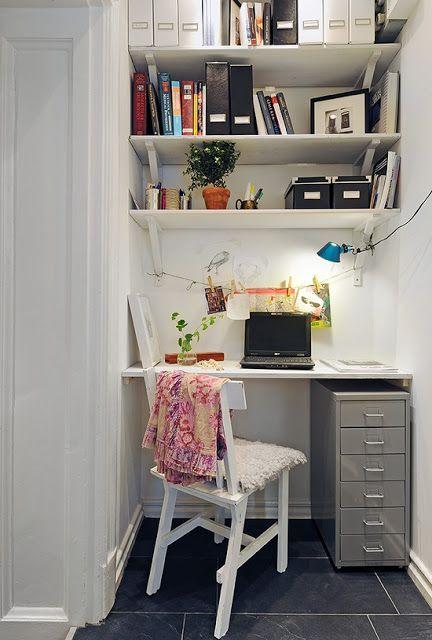 arredare piccolo ufficio casa 10