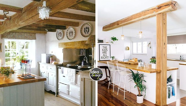 Bianco e legno in cucina 20 idee da cui trarre ispirazione - Cucina bianca e legno naturale ...