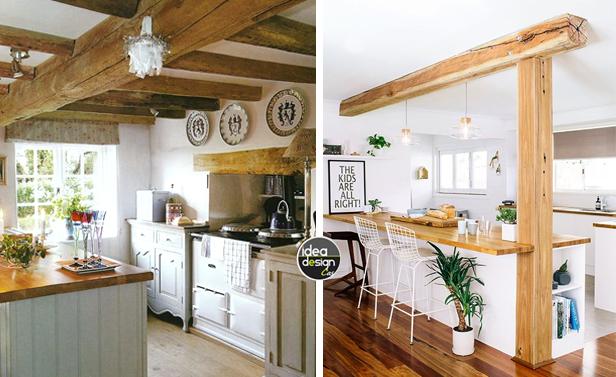 Bianco e legno in cucina 20 idee da cui trarre ispirazione - Idea design casa ...