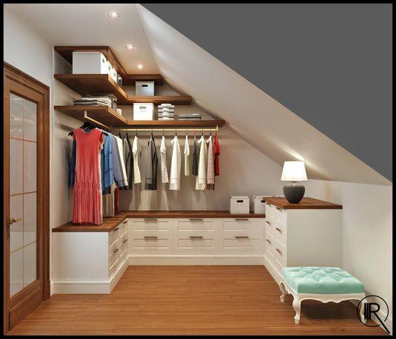 Ottimizzare lo spazio nel sottotetto ecco 20 idee - Ideas para decorar un loft ...