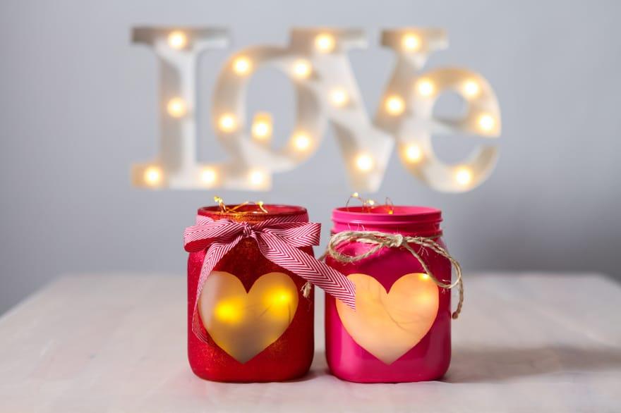 Idee Cucina Romantica : Lanterna romantica fai da te idee per la san ...