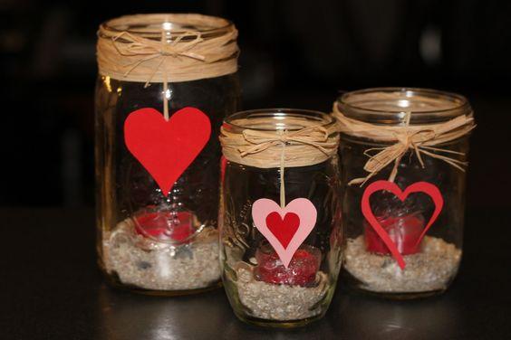 Lanterna romantica fai da te 20 idee per la san valentino - Idee serata romantica a casa ...
