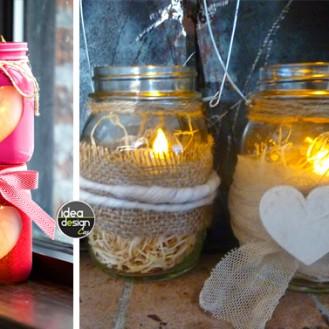 Lanterna romantica fai da te