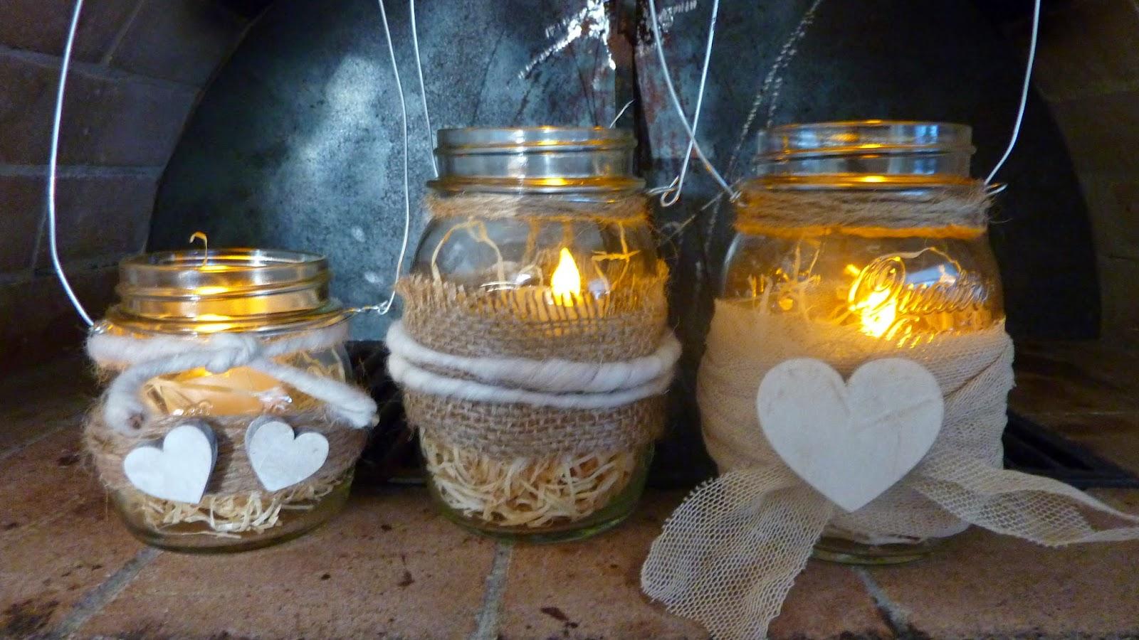 Lanterna romantica fai da te 20 idee per la san valentino - Tovaglie shabby fai da te ...