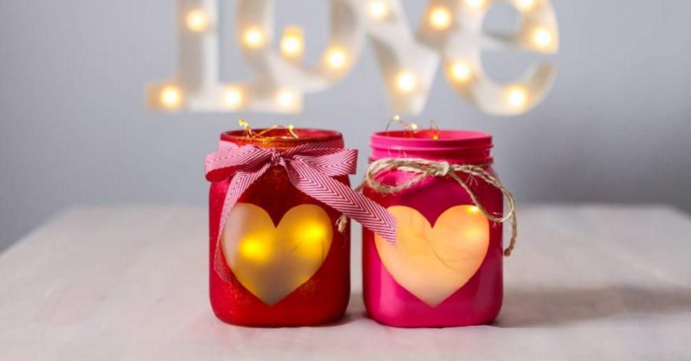 Lanterna romantica san valentino
