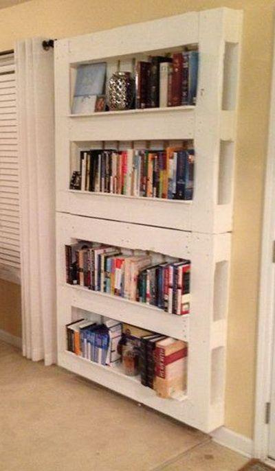 Libreria originale con materiale di riciclo! 20 idee creative...