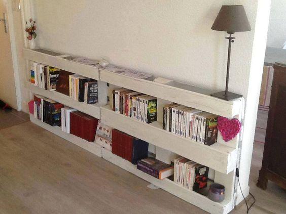 idee per una libreria fai da te molto creativa libreria fai da te con ...
