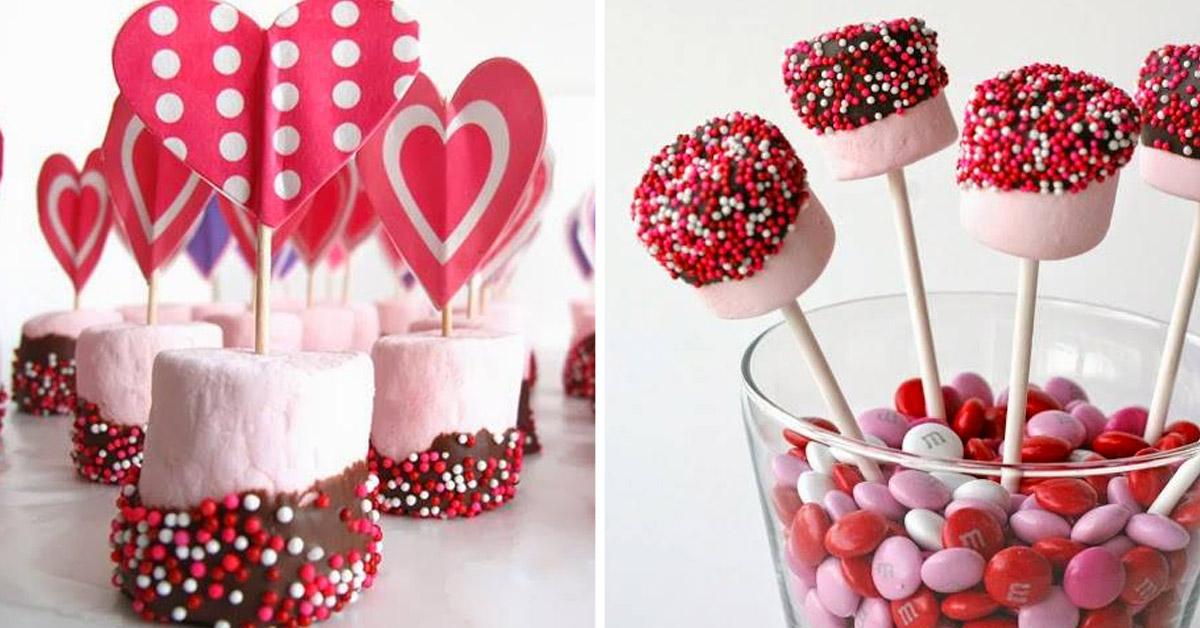 marshmallow per San Valentino