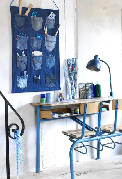 riciclo creativo jeans 7