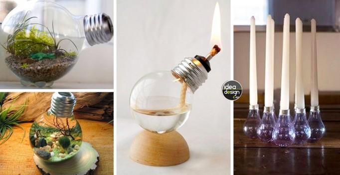 Lampadine a incandescenza: ecco 5 utilizzi originali...