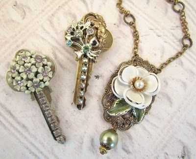 riciclo creativo vecchie chiavi 11