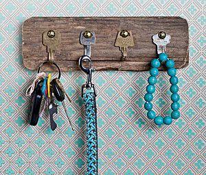 riciclo creativo vecchie chiavi 2