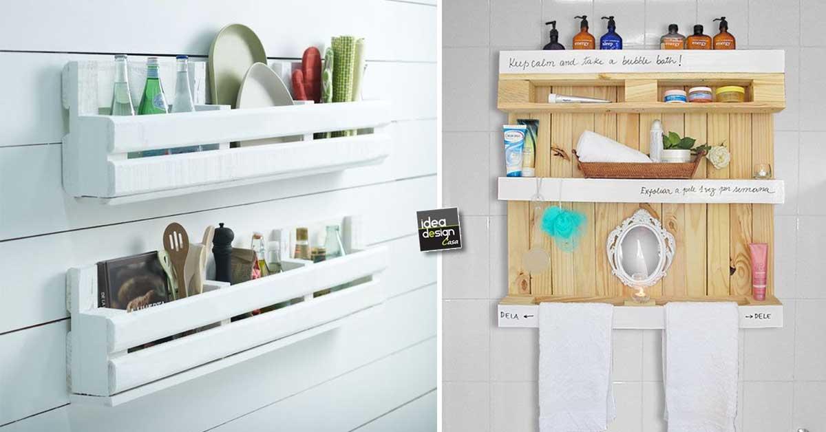 Sistemare casa con i pallet 20 idee a cui ispirarsi for Sistemare casa