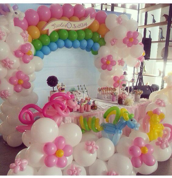 Molto Decorare casa con i palloncini per un compleanno! 20 idee GS45