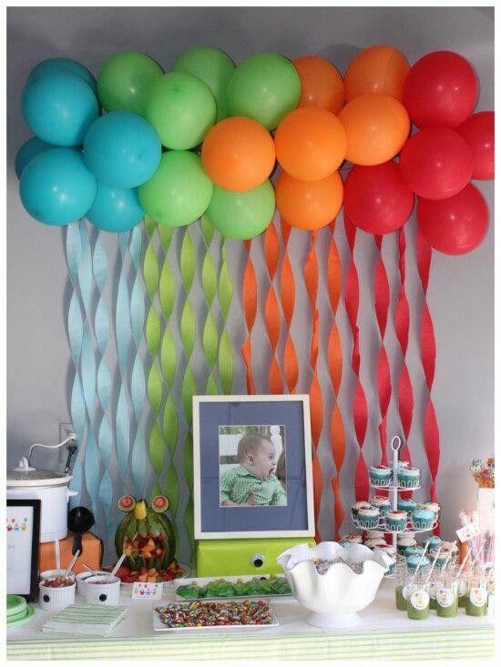 Conosciuto Decorare casa con i palloncini per un compleanno! 20 idee RV74