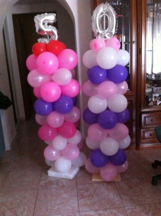 Famoso Decorare casa con i palloncini per un compleanno! 20 idee SS23