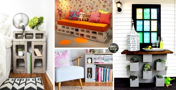Arredare Casa Con I Blocchi Di Cemento 20 Idee A Cui Ispirarsi