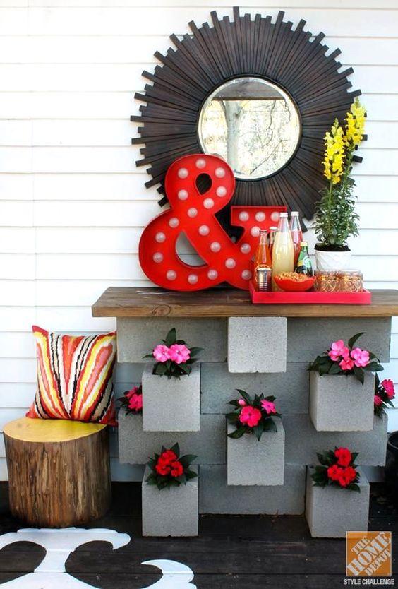 Arredare casa con i blocchi di cemento 20 idee a cui ispirarsi - Idea design casa ...