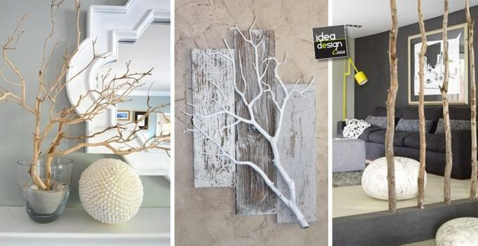 Decorazioni fai da te con materiali naturali 20 idee per for Decorare soggiorno per natale