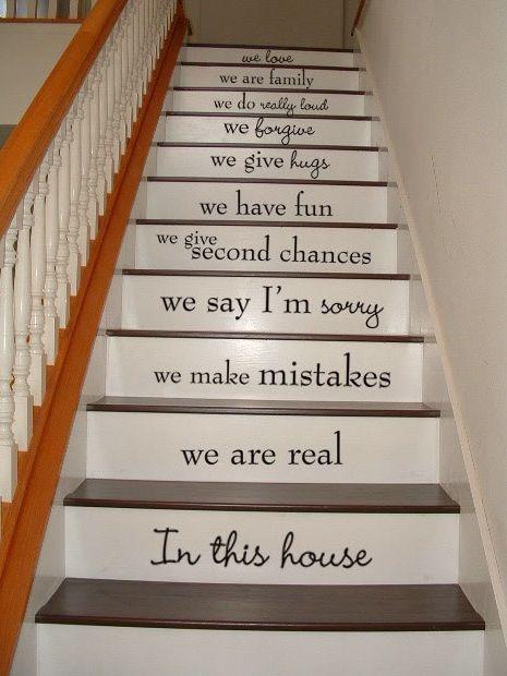 decorazione scale casa 10