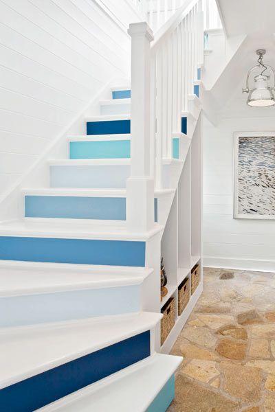 decorazione scale casa 11