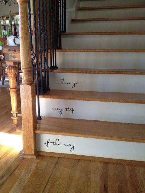 decorazione scale casa 17