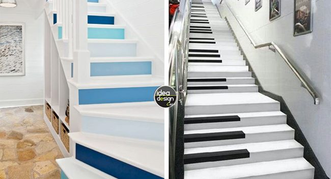 Decorate the stairs of the house! here are 20 creative ideas
