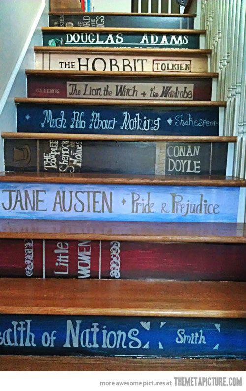 decorazione scale casa 3