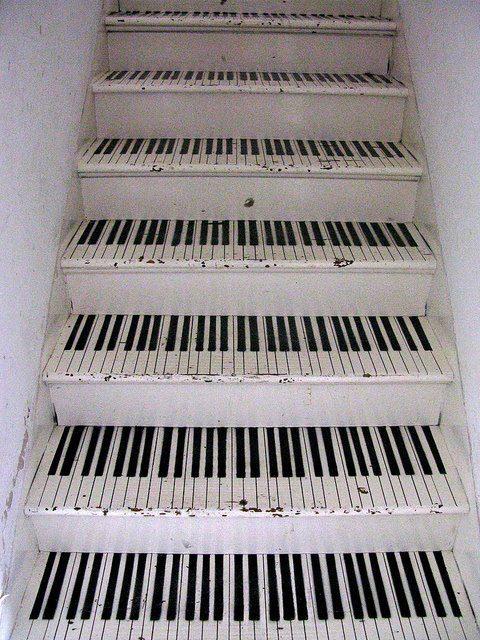 decorazione scale casa 5