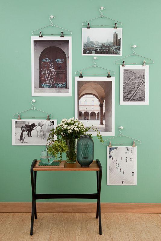 Decorare casa con le foto! ecco 20 idee creative...